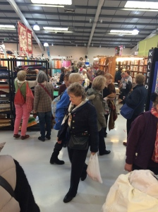Malvern Quilt show is held in Severn Exhibition Hall, Three Counties Showground. Its a great venue. The next Quilt show held here is in May.. even bigger & brighter!