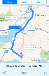 Malvern Route